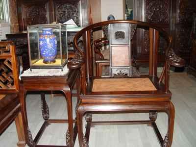 仿古红木家具成收藏投资热点