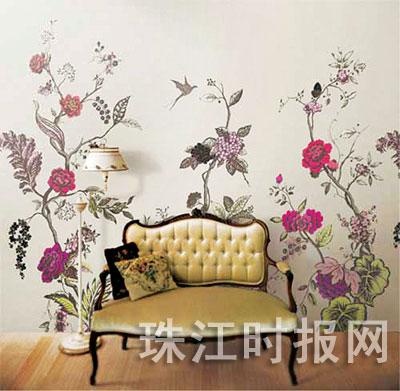 手绘墙画正在成为时尚青年家中的私人风景