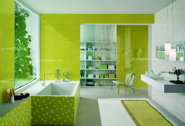 家庭浴室装修图片 打造简约卫浴风