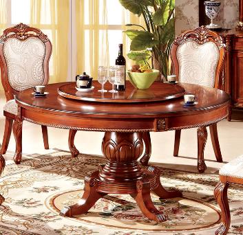 圆形餐桌的尺寸多少 让你了解圆形餐桌的知识